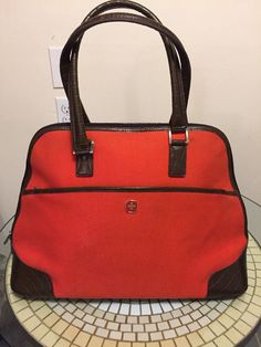 VICTORINOX Swiss Gear RED LG TOTE Shoulder Bag Carry-On | eBay