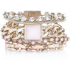 Gold tone eclectic gateway bracelet �15.00