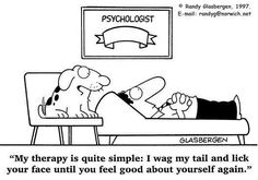 animal assisted therapy ~ works every time! ;)