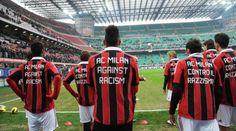 AC Milan Against Racism #calcio #sport
