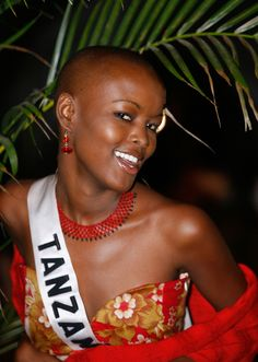 In 2007, Flaviana Matata was the first woman to compete in the Trump-owned Miss Universe pageant with a shaved head. Matata came in sixth and is now a model in New York.