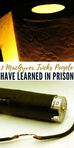 7 MacGyver Tricks People Have Learned in Prison - No longer are you able to eat exactly what you want at any point of the day, nor do you have nearly the amount or quality of items that you may have previously owned. #lifehacks #prepping #preparedness #prepper #survival #shtf