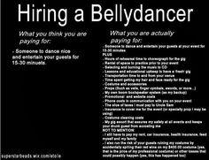 Hiring a Bellydancer