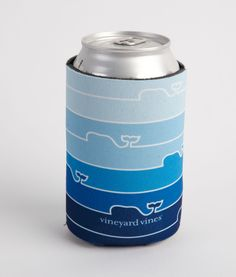 Whale Line Coozie