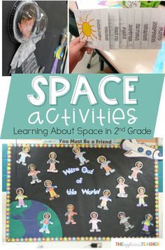 Space activities 2nd grade- Take your space unit above and beyond with these fun and engaging ideas. Perfect for 2nd or 3rd grade- The Applicious Teacher