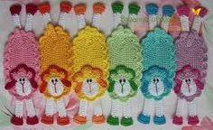 Resultado de imagen para marcadores de libros crochet