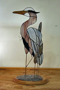 Unique Home Accents :: Hand-Carved Teak Ducks :: Teenager Teak Ducks Stained Glass Patterns Free, Stained Glass Birds, Stained Glass Designs, Stained Glass Panels, Stained Glass Projects, Slumped Glass, Fused Glass, Image Glass, Tiffany