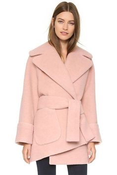 19 Stylish Winter Coats That Are Actually Warm #refinery29  http://www.refinery29.com/warm-dressy-coats#slide-17  It's like cotton-candy heaven over here....