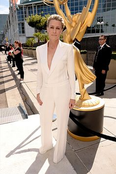 Robin Wright in Ralph Lauren Collection #emmys