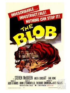 The Blob, 1958 Giclee Print at Art.com