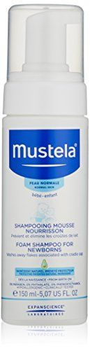 Mustela Foam Shampoo for Newborns, 5.07 Fluid Ounce Mustela https://www.amazon.com/dp/B01MYONM8E/ref=cm_sw_r_pi_dp_x_BbvAzbCZ5WYA8
