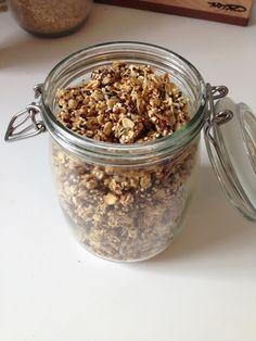 Honey Coconut Quinoa Granola