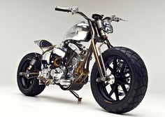 Named after a South American cactus known for its hallucinogenic properties, Satya Kraus' Achuma custom motorcycle is part old Harley and part motocrosser. It's also one of the stars of the 2013 Bike EXIF motorcycle calendar: http://www.octanepress.com/book/bike-exif-custom-motorcycle-calendar-2013