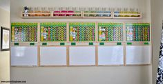 Give, Save, Spend Jars For Kids and Responsibility Charts! Great idea! I will be doing this soon. :-)