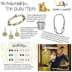 #chloeandisabel #jewelry #moms #mother #mommy #gift #sparkle #candi #jewelry #earrings #charms #headband #bracelet #studs #holiday #makeherfellspecial www.jusadore.com