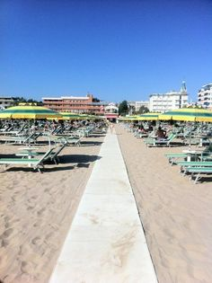 """""""Bagno 44 in Rimini - @nicolawesseling I'm here! Are you coming down to the beach?"""" by @jeanettekramer"""