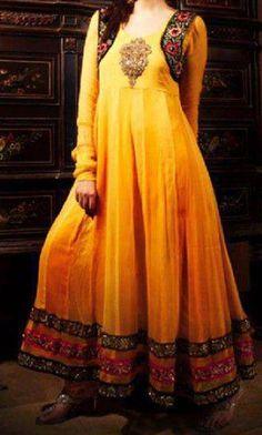 yellow mehndi dress- super adorbs style!!!!!