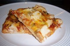 BBQ chicken pizza The Quick & The Hungry: Main Dish