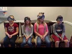 Blind fold food challenge 11.17