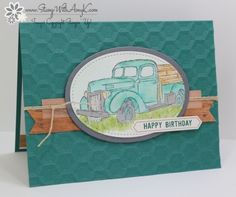 Stampin' Up! Country Livin' Happy Birthday for Fab Friday