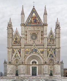 Catedral de santa Maria Assunta, Orvieto, Italia por Markus Brunetti…