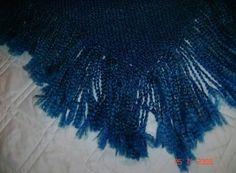 Sapphire shawl deets.