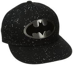 Batman Men's Batmal Metal Badge Flat Brim Hat, Black, One Size Batman http://www.amazon.com/dp/B00GDDAUN0/ref=cm_sw_r_pi_dp_6gjaub0TKG6KZ