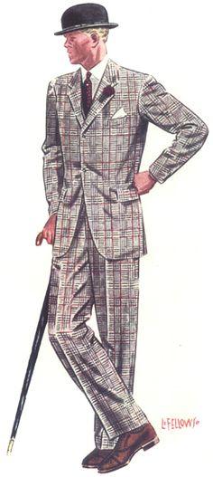 L._Fellows_1939_redplaidsuit.jpg (291×650)