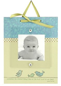 Sometimes The Smallest Things Baby Ribbon Frame by a.i. paper design | Home Decorative Accents