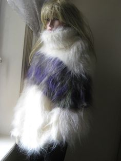 New Fluffy Icelandic Style Mohair Sweater from KYLIE