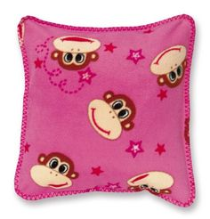 We think this funky monkey cushion from Dotcomgiftshop is kinda cute!