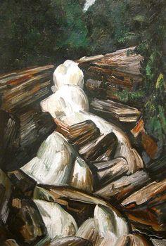 Marsden Hartley (1877-1943), Kinsman Falls (1930), Portland Museum of Art, Maine