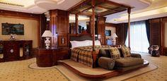 Maior suíte de hotel do mundo tem 4.131 m² e diárias por R$ 260 mil