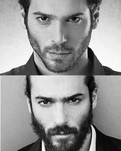 Turkish Men, Turkish Actors, Hot Actors, Actors & Actresses, How To Look Handsome, Handsome Man, Beard Styles For Men, Beard Lover, Love Stars