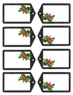Christmas Gift Tags JPG