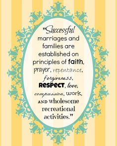 Marriage Quote - The Family: A Proclamation to the World