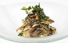 Risotto Milanese with wild mushrooms - Galton Blackiston