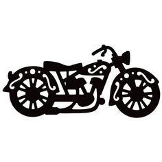 Die-versions Vintage Motorcycle Die