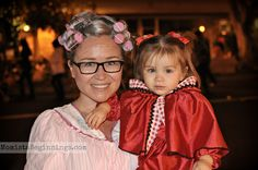 Little Red Riding Hood and Granny DIY costumes // Halloween family costume idea // Momista Beginnings