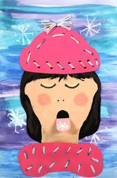 Artsonia is a kids art museum where young artists and students display their art for other kids worldwide to view. This gallery displays schools and student art projects in our museum and offer exciting lesson plan art project ideas. Winter Fun, Winter Theme, Winter Ideas, 3d Art, Winter Art Projects, Winter Project, 3rd Grade Art, Grade 3, Ecole Art