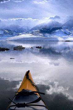 Kayaking on The Kenai in Alaska