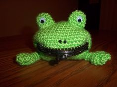 Crochet Pattern Naruto Frog Coin Purse by TheEmeraldStitch on Etsy, $5.00