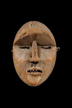 Woyo Ndunga Mask, DR Congo Ritual Dance, Masquerades, Cultural Identity, Z Arts, African Masks, Congo, Carving, Face, Beauty