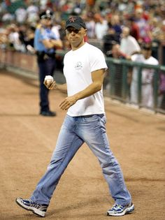 Kenny Chesney -  not a baseball fan but this is one game I would attend