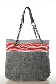 Just for 5£...Nautical & Quilted Canvas Bag