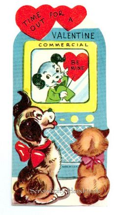 Happy Valentine's Day!      Time Out For a Valentine | Serendipity Vintage, via Flickr.