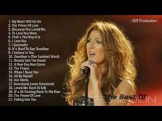The Best Of Celine Dion | Celine Dion's Greatest Hits - YouTube
