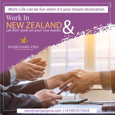 Working with an international company and leading an idol life is what Rajni Garg visa services help you with. Apply for a New Zealand Work visa and leave all your visa related worries to us. Pack your bag and get ready to achieve what you have been dreaming.  To know more: +919873113624  #rajnigargvisa #visaguide #newzealandvisa #workabroad #workvisa New Zealand Work Visa, Work In New Zealand, Work Abroad, Study Abroad, My Dream Came True, Career Opportunities, Core Values, Dreaming Of You, Idol