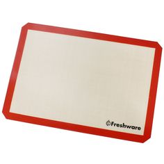 Freshware Silicone Non-Stick Baking Mat, Big (2/3) Size, 19.5 x 13.6 inch, BM-103 -- Click image to review more details.