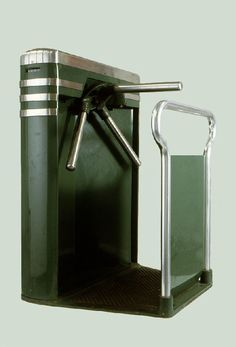 John Vassos, Turnstile from the main lobby of the Brooklyn Museum, designed for the Perey Co, ca 1932.